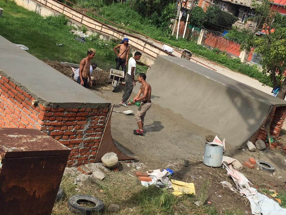 Building Skate Parks In The Developing World Is Thirsty Work